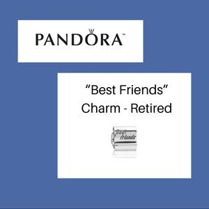 "Pandora ""Best Friends"" charm"